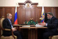 Президент Владимир Путин встретился сглавой ФАС Игорем Артемьевым