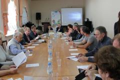 Выездное заседание комиссии «Практики общественного контроля капремонта в Ленинградской области» г.Сланцы